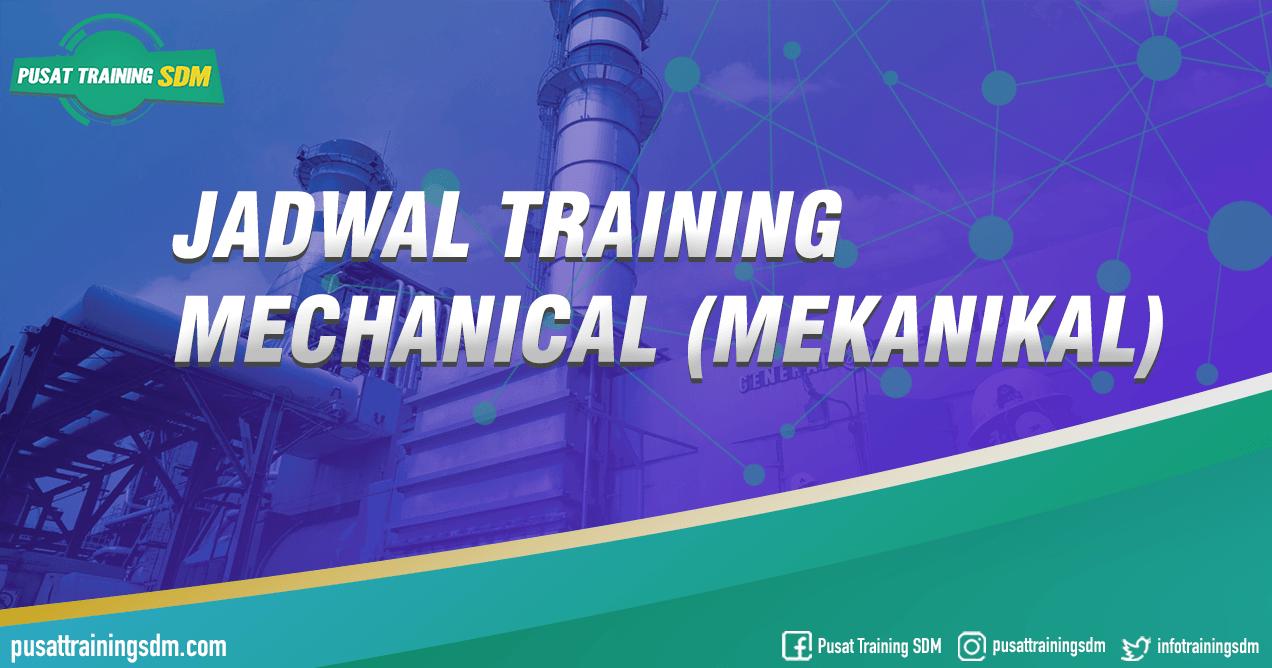 Training Mechanical (Mekanikal) Training SDM Jogja Bandung Bali Jakarta Surabaya
