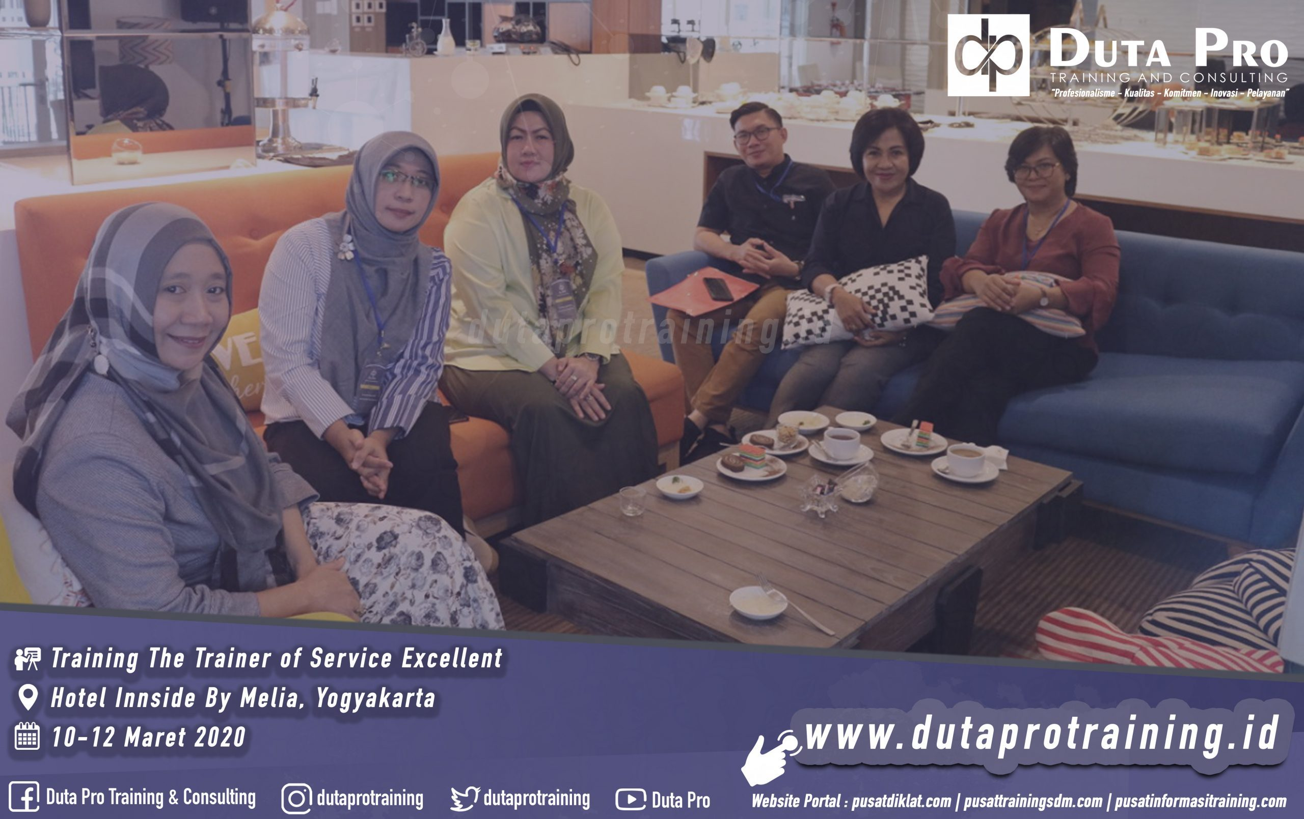 Training The Trainer of Service Excellent Yogyakarta Galeri Website